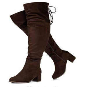 RF ROOM OF FASHION Women's Wide Calf Wide Boots